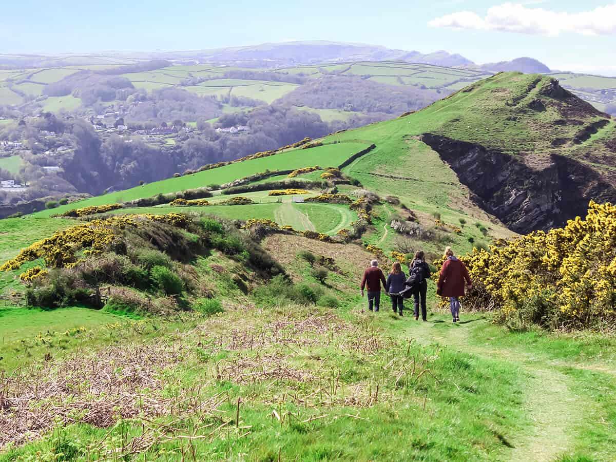 Walking holidays Devon and Exmoor